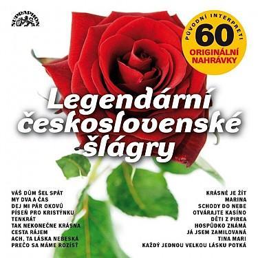 VARIOUS - LEGENDARNI CESKOSLOVENSKE SLAGRY 60