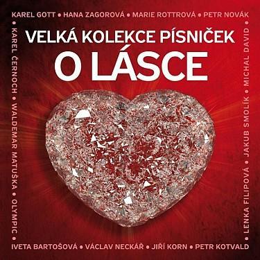 Various - Velka Kolekce Pisnicek O Lasce