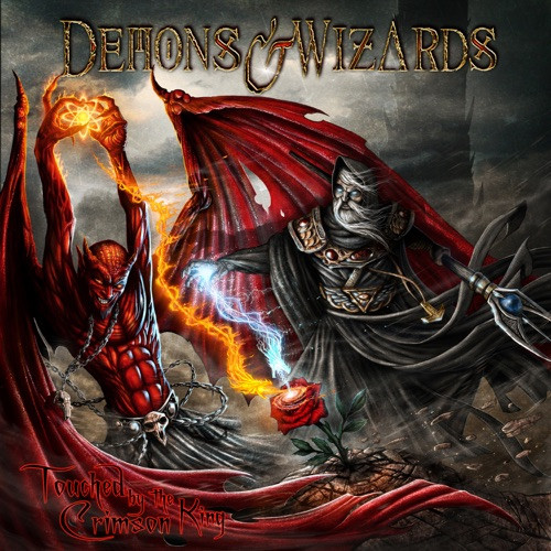 Demons & Wizards - Touched By the Crimson King (R