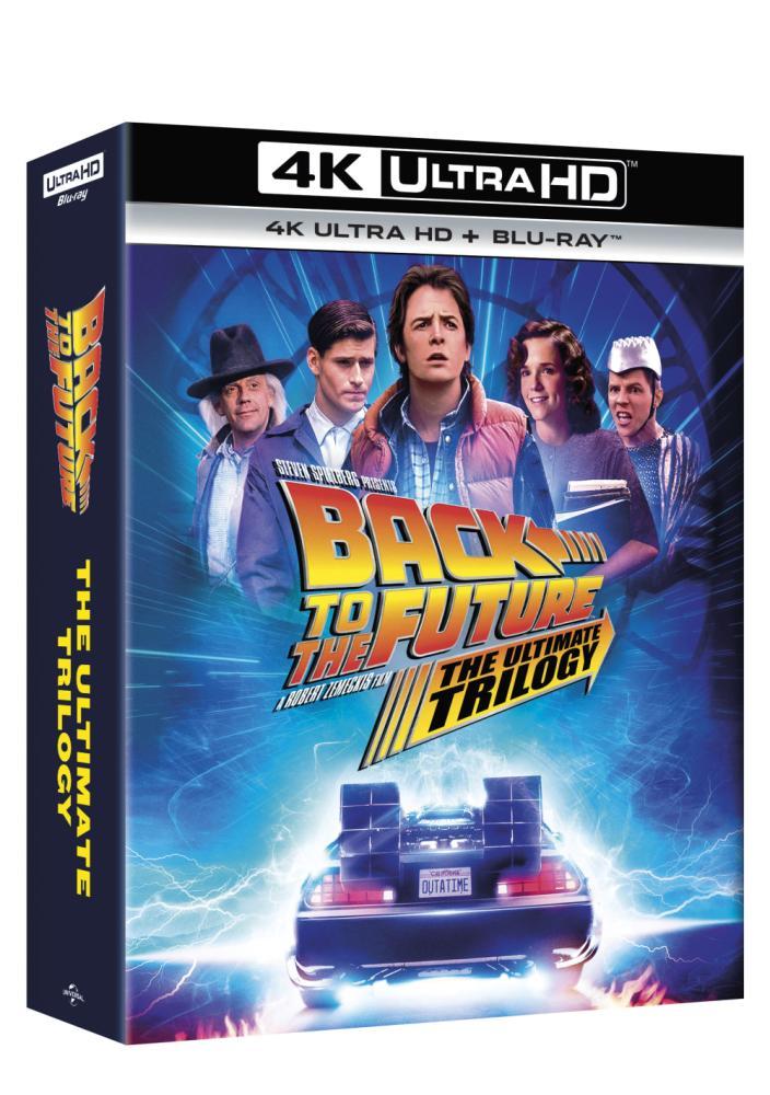 Návrat do budoucnosti kolekce 1.-3. 7BD (UHD+BD) (remasterovaná verze) - digipack