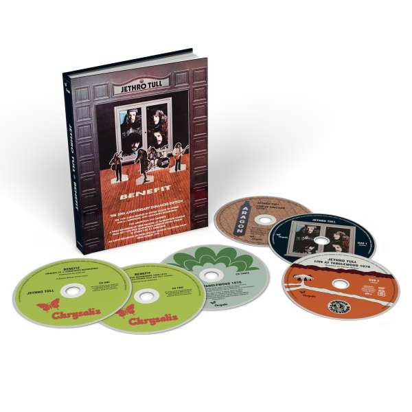 Jethro Tull - Benefit (4Cd+2Dvd)