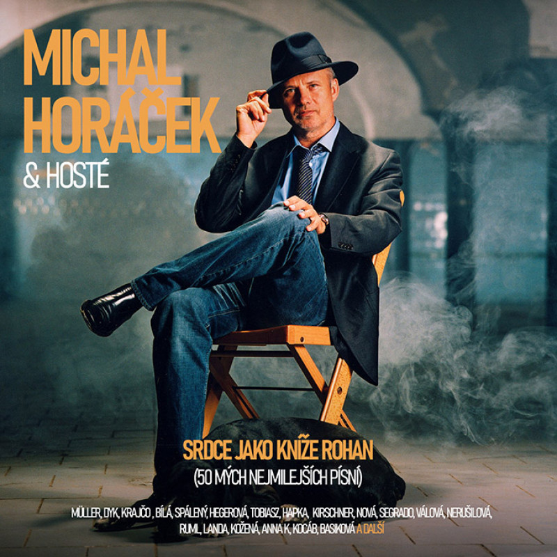HORACEK MICHAL - SRDCE JAKO KNIZE ROHAN (50 mych nejmilejsich)