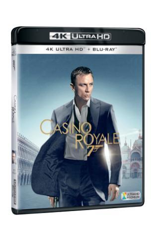 Casino Royale (2006) 2BD (UHD+BD) (BRD)