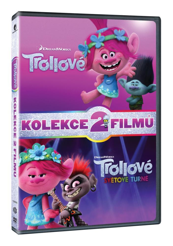 Trollovia kolekcia 1.+2. 2DVD (SK)