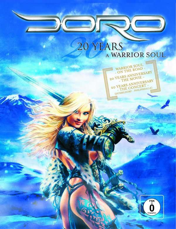 DORO - 20 YEARS - A WARRIOR OF SOUL