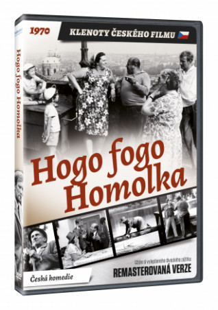 Hogo fogo Homolka (remasterovaná verze) (DVD)
