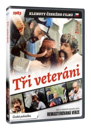 Tři veteráni (remasterovaná verze) (DVD)