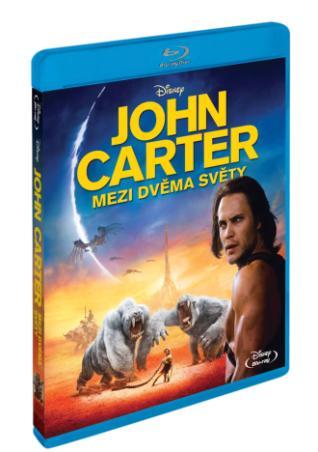 John Carter: Mezi dvěma světy BD (BRD)