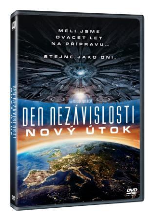 Den nezávislosti: Nový útok (DVD)