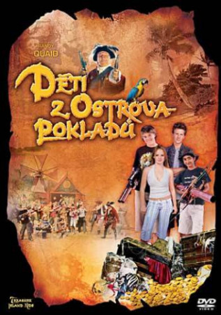 DETI Z OSTROVA POKLADU (TREASURE ISLAND KIDS I) (DVD)