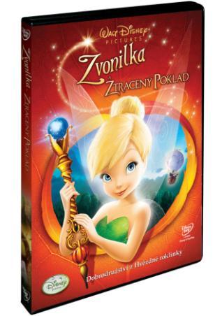 Zvonilka a ztracený poklad (DVD)