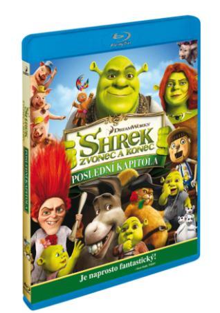 Shrek: Zvonec a konec BD (BRD)