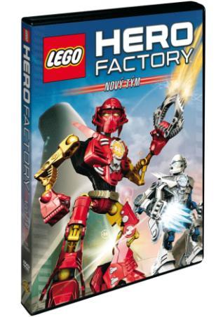 Lego Hero Factory: Nový tým (DVD)