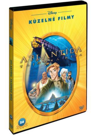 Atlantida: tajemná říše Disney kouzelné filmy (DVD)