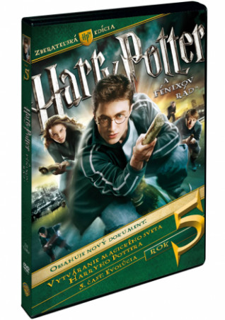 Harry Potter a Fénixuv rád - sberatelská edice 3DVD (SK) (DVD)