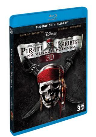 Piráti z Karibiku: Na vlnách podivna 2BD (3D+2D) (BRD)