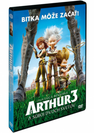Arthur a súboj dvoch svetov DVD (SK) (DVD)