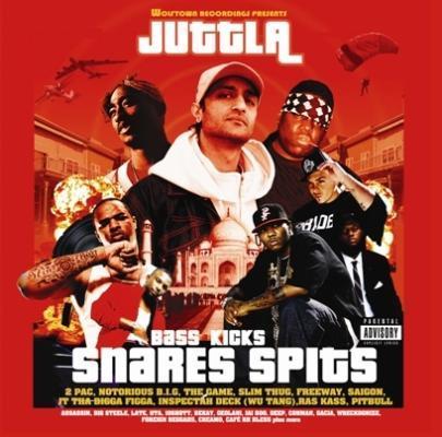 Juttla - Bass Kicks Snares Spits