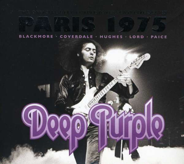 DEEP PURPLE - LIVE IN PARIS 1975 (REEDIC