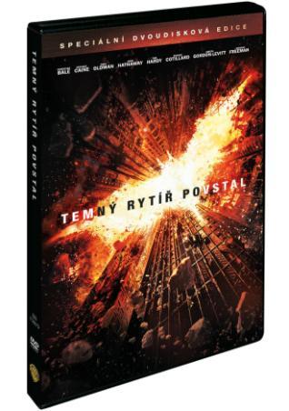 Temný rytíř povstal 2DVD (DVD)