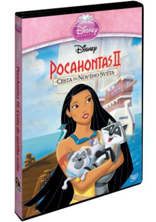 Pocahontas 2.: Cesta do nového světa - Edice princezen (DVD)