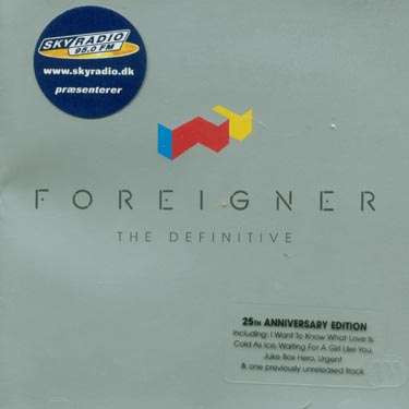 FOREIGNER - DEFINITIVE,THE