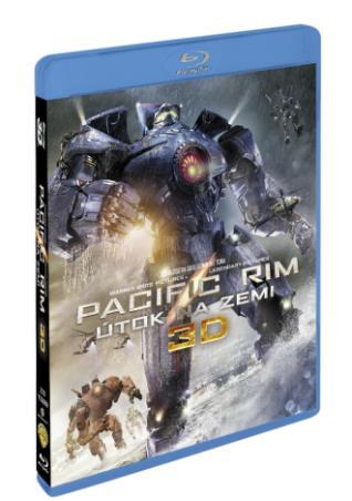Pacific Rim - Útok na Zemi 3BD (3D+2D) (BRD)